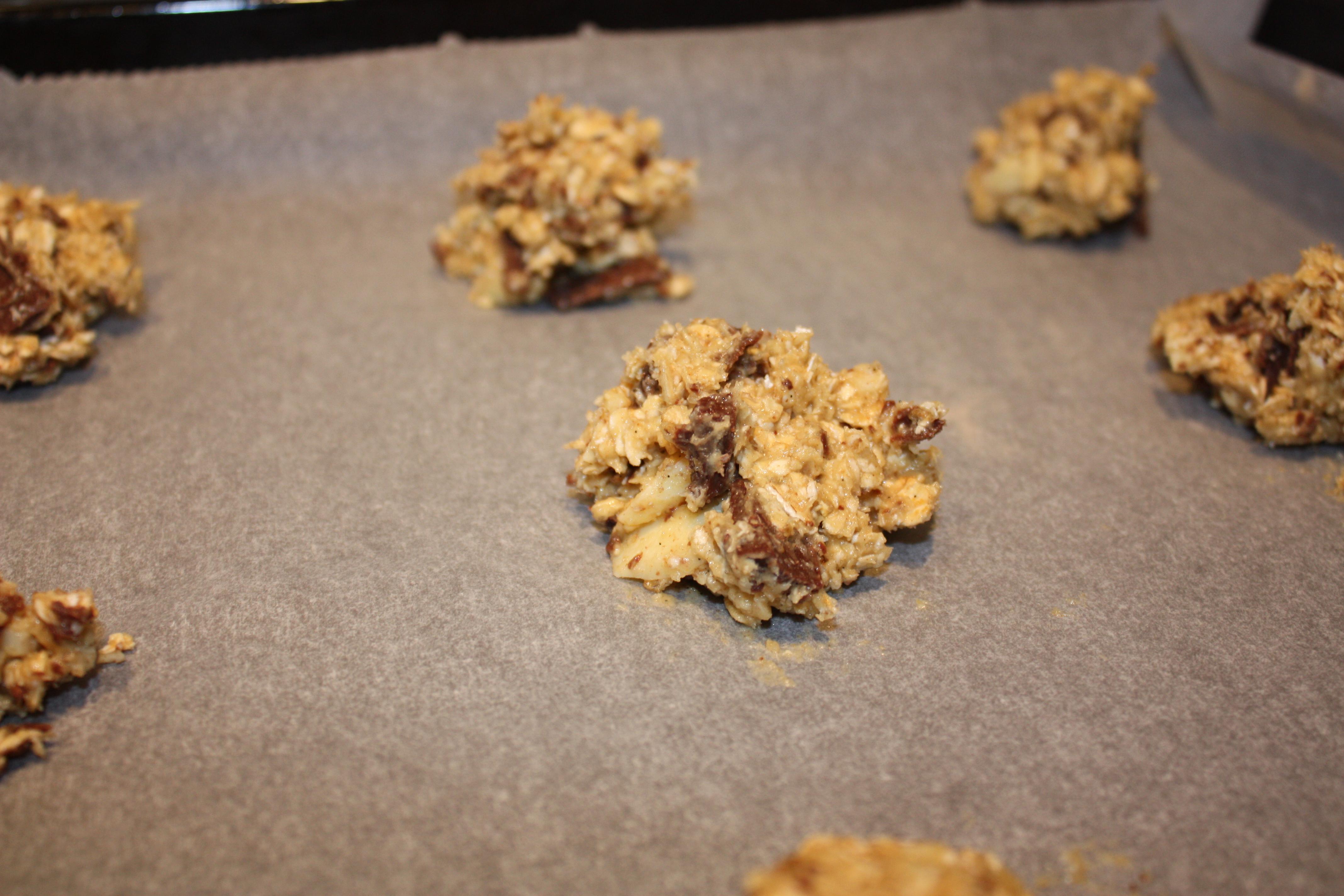 Je länger die cookies im ofen bleiben umso knuspriger werden sie