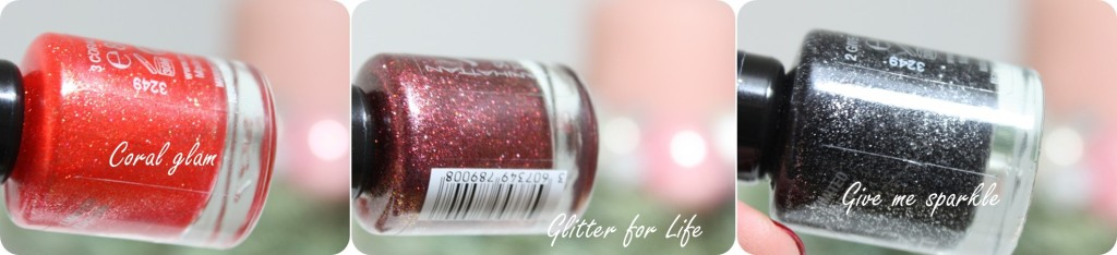 Manhattan Visions of me sugar effect nail polish