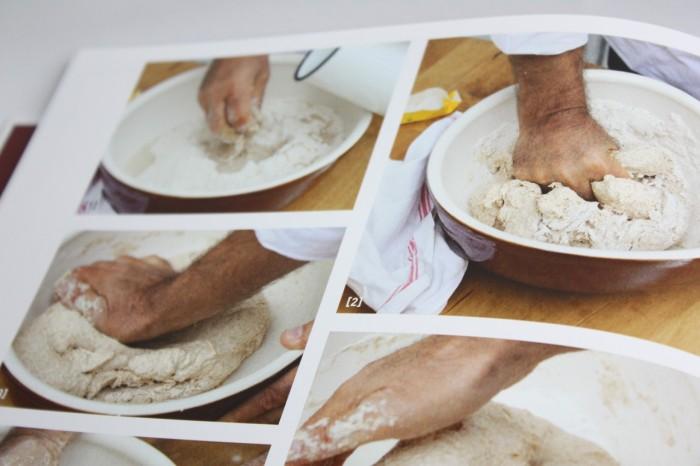 Kunst vegan zu backen Brot