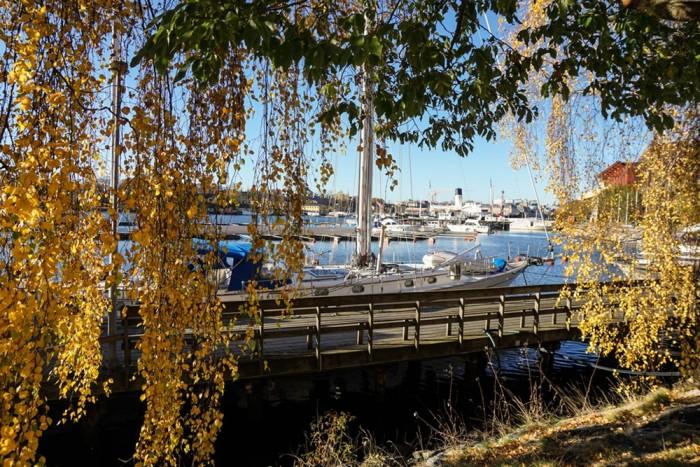 Stockholm im Herbst