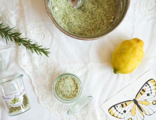 Rosmarin Zitronen Kräutersalz