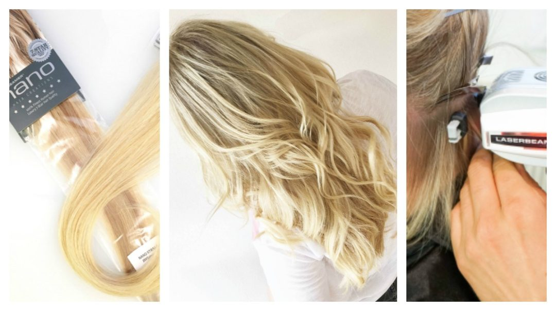 Hairdreams Extensions Collage